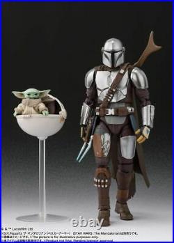S. H Figuarts Star Wars Mandalorian Beskar Armor Ver. & The Child Set IN STOCK US