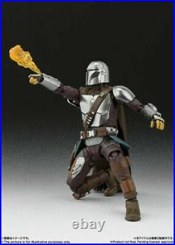 S. H. Figuarts Star Wars The Mandalorian (Beskar Armor) & The Child 2 body set NEW