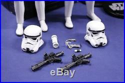 Sideshow 1/6 Star Wars Luke Skywalker Han Solo Stormtrooper Set