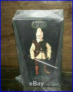 Sideshow Star Wars Ki-adi-mundi Jedi Brand New 12 Gem Set Still Bagged