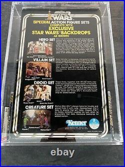 Star Wars 1979 Kenner Series 2 Villain Set AFA 80 Rare 3 Pack