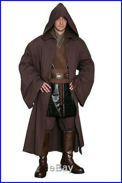 Star Wars Anakin Skywalker Costume and Robe in Brown Film Set Quality from UK
