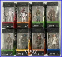 Star Wars Black Series 6 Action Figures Wave 2 -Set of Eight IN STOCK