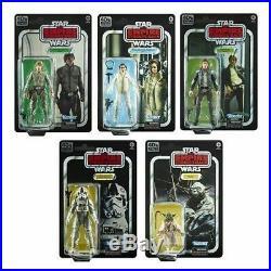 Star Wars Black Series Empire Strikes Back 40th Anniversary Wave 1 Set IN STOCK