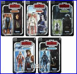 Star Wars Black Series Empire Strikes Back 40th Anniversary Wave 2 Set PREORDER