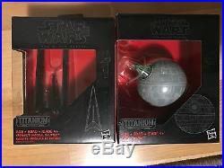 Star Wars Black Series Titanium Vehicles COMPLETE SET 1-33 + Blk#03