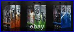 Star Wars Black Series Wave 1 Set of 7 Figures Mandalorian Beskar IN STOCK
