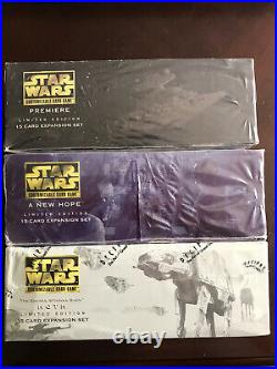 Star Wars CCG Sealed Limited Booster Box Set Epic Rare w Anthologies SWCCG