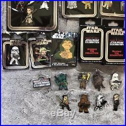 Star Wars Celebration Orlando COMPLETE 42 Pin Set Kylo Greedo Hera Thrawn