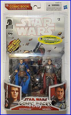 Star Wars Comic Packs Montross & Mereel Action Figure Set #18 Hasbro Mandalorian