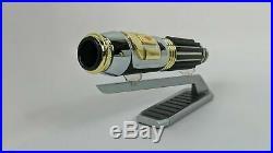 Star Wars Disneyland Galaxy's Edge MACE WINDU Lightsaber + 36 Blade Gift Set