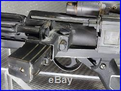 Star Wars, E-11 Anh Blaster, Set Accurate, Metal, Welded, Vintage Smg Mk4 Parts