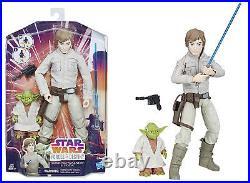 Star Wars Forces of Destiny 11 LUKE SKYWALKER & YODA ACTION FIGURE/DOLL SET