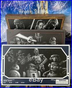 Star Wars Galaxy's Edge Black Series Droid Depot, Smugglers Run, First Order Set
