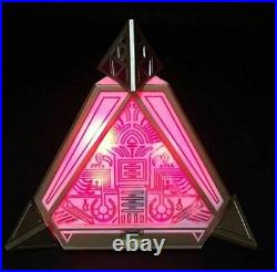 Star Wars Galaxy's Edge Complete Sith Holocron set with Custom black Kyber Crystal