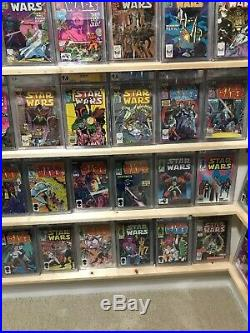 Star Wars Graded Complete Cgc Set 1-107 Grade-9.0-9.8 +2 Extra # 1s 9.6 n 9.2