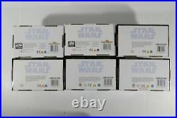 Star Wars Hasbro Saga OTC 2002 2004 TPM Jedi High Council Complete set of 6
