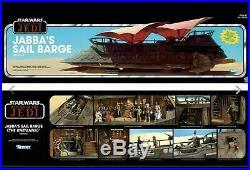 Star Wars Haslab Jabba SAIL BARGE The Khetanna YAKFACE + JABBA 2 FIGURE Set
