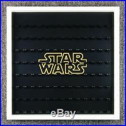 Star Wars LEGO Large Display Frame Black Storage Case Fits 104 Minifigures BIG