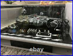 Star Wars Lego Millenium Falcon 75212 Kessel Run 75105 Docking Bay Building Kit