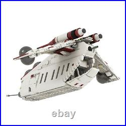 Star Wars MOC Republic Gunship based Set Building Blocks Educational Toy Brick