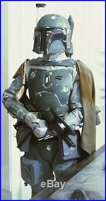 Star Wars Mandalorian Boba Fett Full Movie Accurate Armor Set 11