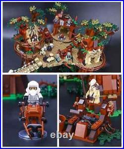 Star Wars Mandalorian Ewok Village 10236 Kids Toy 1990 Blocks Set Christmas Gift
