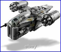 Star Wars Mandalorien Razor Crest +5 Figurines Jeu Construction Compatible Lego