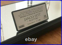 Star Wars Master Replicas Jango Fett Blasters Set