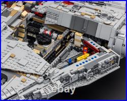 Star Wars Millennium Falcon 75192 UCS Set 8445Pcs Blocks Kids Toy Christmas Gift