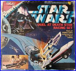 Star Wars POWER PASSERS DUEL At DEATH STAR RACING SET 1978 MIB UNOPENED Rare