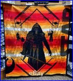 Star Wars Pendleton Blankets 4 Piece Limited Edition Set New Rare Hope Jedi Wool