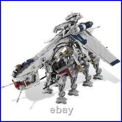 Star Wars Republic Dropship + AT-OT Walker Equivalent 10195 Compatible With