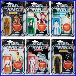 Star Wars Retro Series Wave 1 Set Of 6 Preorder Today