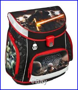 Star Wars Schulranzen Set 8tlg. Schultüte 85cm Sporttasche Federmappe schw HZ