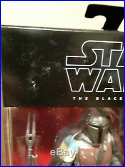 Star Wars The Black series 6 The Mandalorian 1st edition white Box set 3 figure