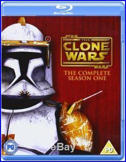 Star Wars The Clone Wars Complete Series Seasons 1-5 Box/BluRay Set Movie
