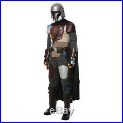 Star Wars The Mandalorian Cosplay Costume Uniform Halloween Outfit MASK Full Set