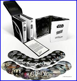 Star Wars The Skywalker Saga Complete Box Set Blu-Ray Movies Region Free NEW