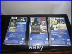 Star Wars VHS Original First release Box Set PAL version Star Wars Original Vid