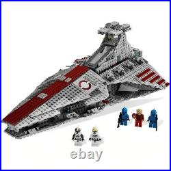 Star Wars Ventar-class Republic Attack Cruiser 8039 Compatible With