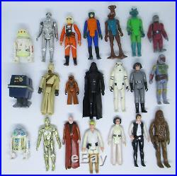 Star Wars Vintage ANH First 21 Original Figures Lot Set 1977-79 HK Kenner