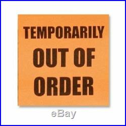Temporarily out of order III