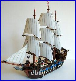 USED Lego Pirates Imperial Flagship (10210) 100% Complete, NO BOX, & Extra Sails