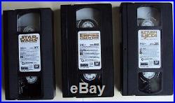 VHS STAR WARS TRILOGY 1997 SPECIAL EDITION, BOX SET 20Th CenturyFox Video Releas