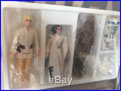 Vintage Kenner Star Wars 1978 Early Bird Set Kit AFA 75 Double Telescoping Luke
