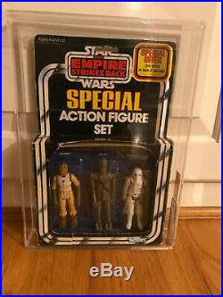 Vintage Kenner Star Wars Imperial Forces Special Action Figure Set 3 Pack AFA 50