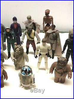 Vintage Kenner Star Wars Set Last 17 POTF Coins Yak Face Barada EV-9D9 Amanaman