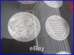 Vintage Star Wars Coin, POTF DROIDS EWOKS reverse sets