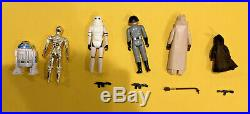 Vintage Star Wars Lot Complete Mint Set of First 12 with Weapons NO REPROS